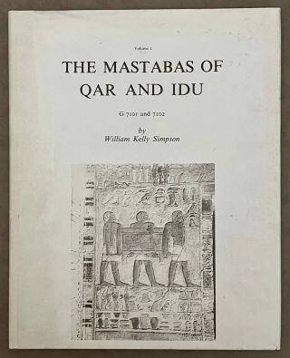 The mastabas of Qar and Idu. DUNHAM Dows - SIMPSON William K[newline]M0484-00.jpeg