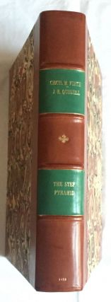 The step pyramid. Vol. I: Text. Vol. II: Plates (complete set). With plans by J.-P. Lauer[newline]M0581b-01.jpg
