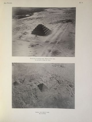 The step pyramid. Vol. I: Text. Vol. II: Plates (complete set). With plans by J.-P. Lauer[newline]M0581b-07.jpg