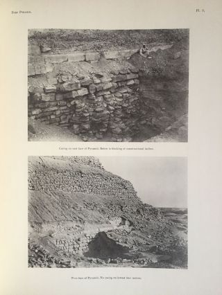 The step pyramid. Vol. I: Text. Vol. II: Plates (complete set). With plans by J.-P. Lauer[newline]M0581b-08.jpg