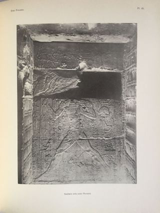The step pyramid. Vol. I: Text. Vol. II: Plates (complete set). With plans by J.-P. Lauer[newline]M0581b-09.jpg