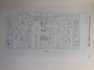 Dendera in the third millenium B.C. Down to the Theban domination of Upper Egypt.[newline]M0583a-18.jpg