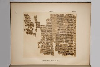 Hieratic papyri in the British Museum. Third Series: Chester Beatty Gift. Vol. I: Text. Vol. II: Plates (complete set)[newline]M0603b-04.jpg