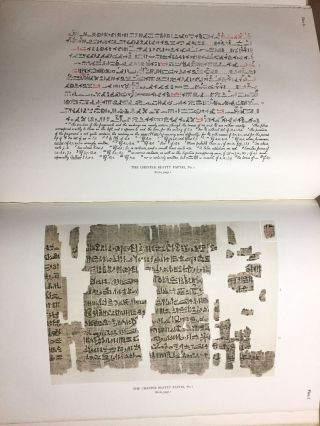 The Library of A. Chester Beatty. Description of a hieratic papyrus with a mythological story, love-songs, and other miscellaneous texts. (The Chester Beatty Papyri. 1.)[newline]M0613b-53.jpg