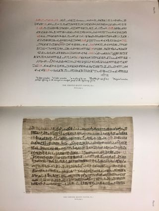 The Library of A. Chester Beatty. Description of a hieratic papyrus with a mythological story, love-songs, and other miscellaneous texts. (The Chester Beatty Papyri. 1.)[newline]M0613b-56.jpg