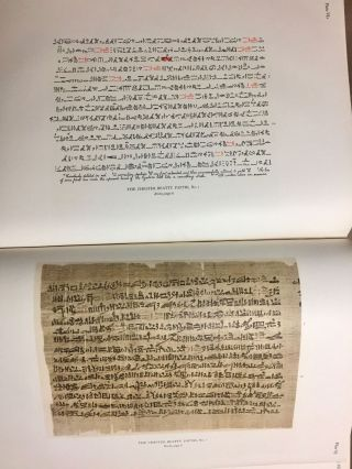 The Library of A. Chester Beatty. Description of a hieratic papyrus with a mythological story, love-songs, and other miscellaneous texts. (The Chester Beatty Papyri. 1.)[newline]M0613b-58.jpg