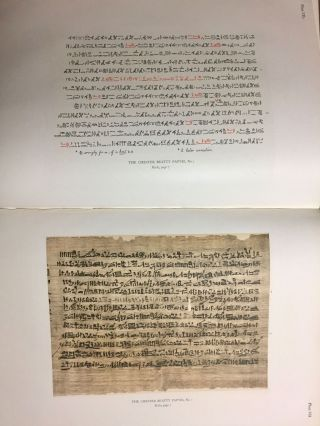 The Library of A. Chester Beatty. Description of a hieratic papyrus with a mythological story, love-songs, and other miscellaneous texts. (The Chester Beatty Papyri. 1.)[newline]M0613b-59.jpg