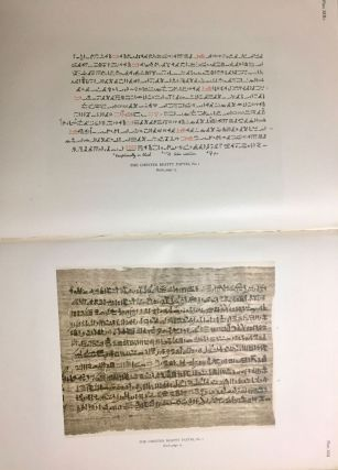 The Library of A. Chester Beatty. Description of a hieratic papyrus with a mythological story, love-songs, and other miscellaneous texts. (The Chester Beatty Papyri. 1.)[newline]M0613b-65.jpg