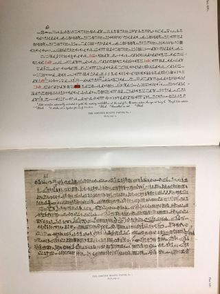 The Library of A. Chester Beatty. Description of a hieratic papyrus with a mythological story, love-songs, and other miscellaneous texts. (The Chester Beatty Papyri. 1.)[newline]M0613b-66.jpg