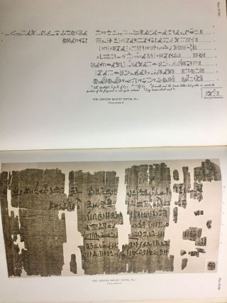 The Library of A. Chester Beatty. Description of a hieratic papyrus with a mythological story, love-songs, and other miscellaneous texts. (The Chester Beatty Papyri. 1.)[newline]M0613b-70.jpg
