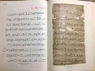 The Library of A. Chester Beatty. Description of a hieratic papyrus with a mythological story, love-songs, and other miscellaneous texts. (The Chester Beatty Papyri. 1.)[newline]M0613b-71.jpg
