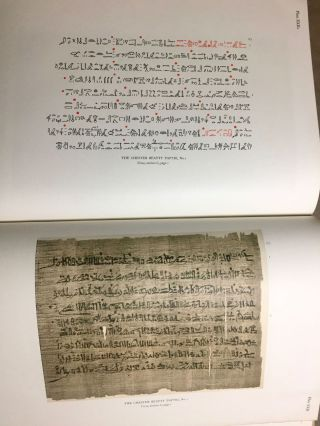 The Library of A. Chester Beatty. Description of a hieratic papyrus with a mythological story, love-songs, and other miscellaneous texts. (The Chester Beatty Papyri. 1.)[newline]M0613b-74.jpg