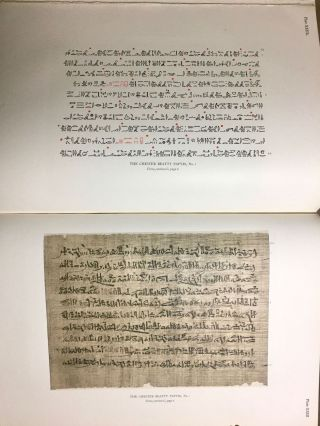 The Library of A. Chester Beatty. Description of a hieratic papyrus with a mythological story, love-songs, and other miscellaneous texts. (The Chester Beatty Papyri. 1.)[newline]M0613b-75.jpg
