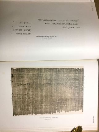 The Library of A. Chester Beatty. Description of a hieratic papyrus with a mythological story, love-songs, and other miscellaneous texts. (The Chester Beatty Papyri. 1.)[newline]M0613b-80.jpg