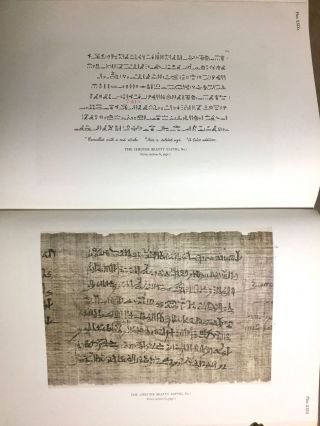 The Library of A. Chester Beatty. Description of a hieratic papyrus with a mythological story, love-songs, and other miscellaneous texts. (The Chester Beatty Papyri. 1.)[newline]M0613b-81.jpg