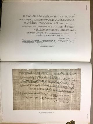 The Library of A. Chester Beatty. Description of a hieratic papyrus with a mythological story, love-songs, and other miscellaneous texts. (The Chester Beatty Papyri. 1.)[newline]M0613b-82.jpg