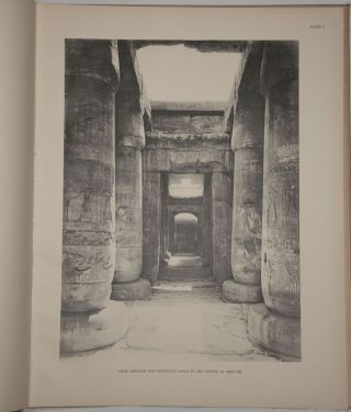 The temple of King Sethos I at Abydos. Vol. I: The chapels of Osiris, Isis and Horus. Vol. II: The chapels of Amen-Re, Re Harakhti, Ptah, and King Sethos.[newline]M0617m-07.jpg