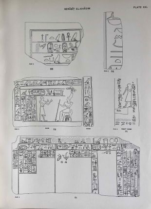 The inscriptions of Sinai. Part I: Introduction and plates. 2nd, revised edition.[newline]M0626f-11.jpeg
