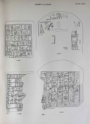 The inscriptions of Sinai. Part I: Introduction and plates. 2nd, revised edition.[newline]M0626f-12.jpeg