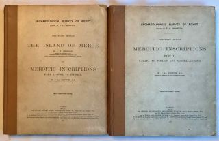 The island of Meroë & Meroïtic inscriptions. Part I: Sôba to Dangêl....[newline]M0724d.jpg