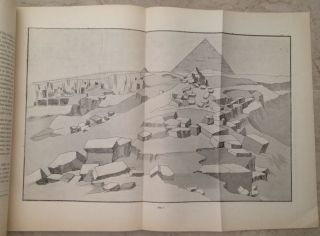 """Excavations at Giza. Vol. X (1938-1939). The Great Pyramid of Khufu and its Mortuary Chapel. With Names and Titles of Vols. 1-10 of the Excavations at Gîza.""""[newline]M0751c-02.jpg"""