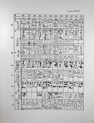 Excavations at Giza. Vol. VI. Part 2,2 (1934-1935): The Offering-List in the Old Kingdom. Plates.[newline]M0757c-06.jpeg
