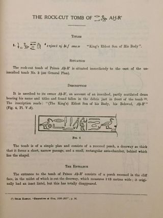 Excavations at Giza. Vol. IX (1937-1938). The mastabas of the eighth season and their description[newline]M0762a-05.jpg
