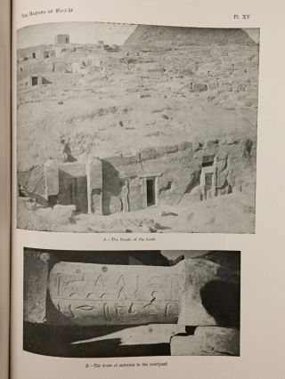 Excavations at Giza. Vol. IX (1937-1938). The mastabas of the eighth season and their description[newline]M0762a-11.jpg