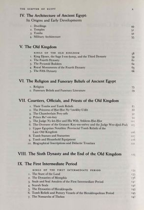 The scepter of Egypt. Vol. I: From the Earliest Times to the End of the Middle Kingdom. Vol. II: The Hyksos Period and the New Kingdom (1675–1080 B.C.) (complete set)[newline]M0771-06.jpeg