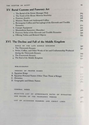 The scepter of Egypt. Vol. I: From the Earliest Times to the End of the Middle Kingdom. Vol. II: The Hyksos Period and the New Kingdom (1675–1080 B.C.) (complete set)[newline]M0771-08.jpeg