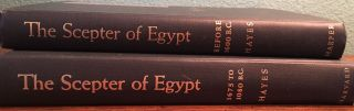 The scepter of Egypt. Vol. I: From the Earliest Times to the End of the Middle Kingdom. Vol. II: The Hyksos Period and the New Kingdom (1675–1080 B.C.) (complete set)[newline]M0771c-01.jpg
