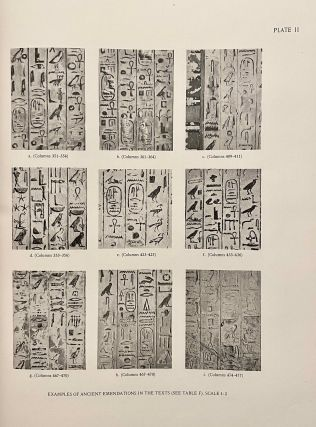 The texts in the mastabeh of Sen-Wosret-Ankh at Lisht. With plates by Lindsley F. Hall from photographs by Harry Burton.[newline]M0773-11.jpeg