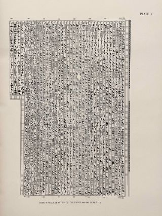 The texts in the mastabeh of Sen-Wosret-Ankh at Lisht. With plates by Lindsley F. Hall from photographs by Harry Burton.[newline]M0773-12.jpeg