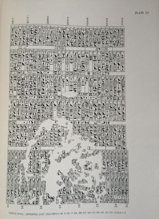The texts in the mastabeh of Sen-Wosret-Ankh at Lisht. With plates by Lindsley F. Hall from photographs by Harry Burton[newline]M0773a-05.jpg