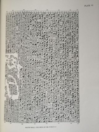 The texts in the mastabeh of Sen-Wosret-Ankh at Lisht. With plates by Lindsley F. Hall from photographs by Harry Burton[newline]M0773a-07.jpg
