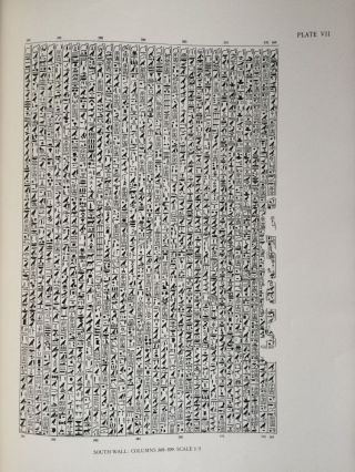 The texts in the mastabeh of Sen-Wosret-Ankh at Lisht. With plates by Lindsley F. Hall from photographs by Harry Burton[newline]M0773a-08.jpg