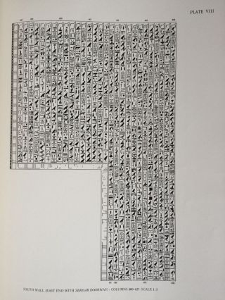 The texts in the mastabeh of Sen-Wosret-Ankh at Lisht. With plates by Lindsley F. Hall from photographs by Harry Burton[newline]M0773a-09.jpg
