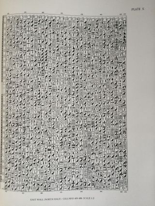 The texts in the mastabeh of Sen-Wosret-Ankh at Lisht. With plates by Lindsley F. Hall from photographs by Harry Burton[newline]M0773a-11.jpg