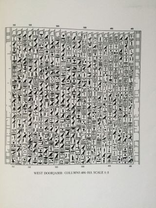 The texts in the mastabeh of Sen-Wosret-Ankh at Lisht. With plates by Lindsley F. Hall from photographs by Harry Burton[newline]M0773a-12.jpg