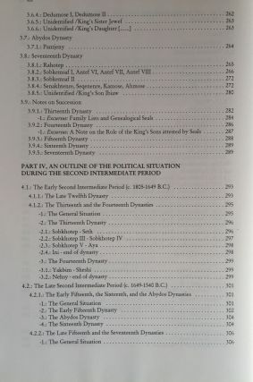 The Political Situation in Egypt during the Second Intermediate Period c.1800-1550 B.C.[newline]M0799a-07.jpg