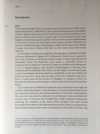 The Political Situation in Egypt during the Second Intermediate Period c.1800-1550 B.C.[newline]M0799a-09.jpg