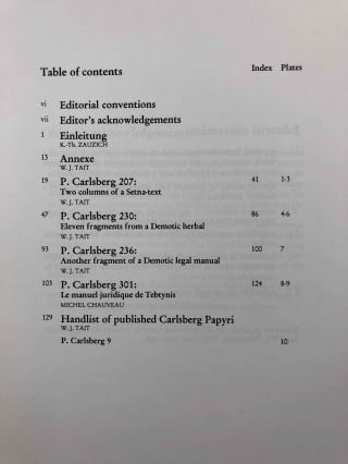 Demotic Texts from the Collection (The Carlsberg Papyri, vol. 1)[newline]M0800a-02.jpg