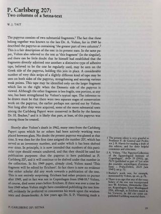 Demotic Texts from the Collection (The Carlsberg Papyri, vol. 1)[newline]M0800a-03.jpg