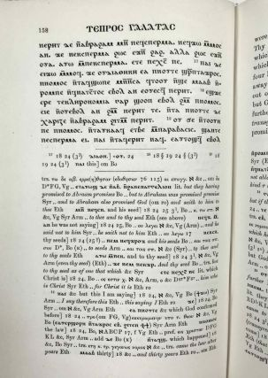 The Coptic version of the New Testament in the Southern dialect otherwise called Sahidic and Thebaic, 7 volumes (complete set)[newline]M0817d-37.jpeg