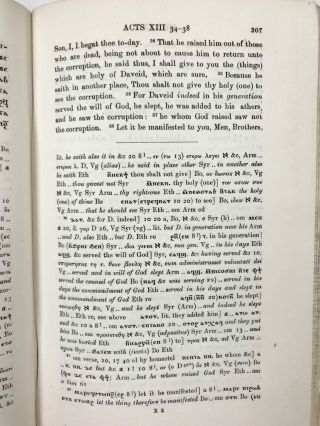 The Coptic version of the New Testament in the Southern dialect otherwise called Sahidic and Thebaic, 7 volumes (complete set)[newline]M0817d-45.jpeg