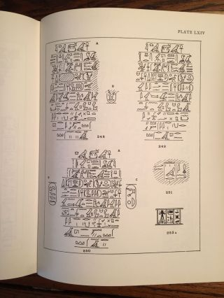 Corpus of hieroglyphic inscriptions in the Brooklyn museum. From Dynasty I to the End of Dynasty XVIII.[newline]M0845a-16.jpg