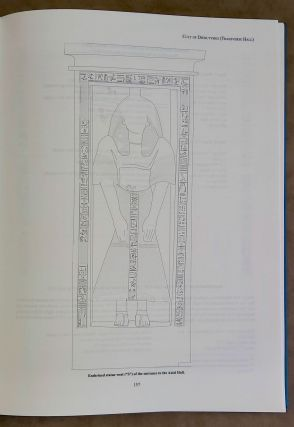 The mortuary monument of Djehutymes (TT32). Vol. I: Text. Vol. II: Plates (complete set)[newline]M0888-10.jpeg