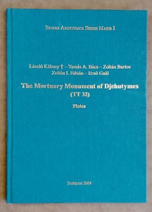 The mortuary monument of Djehutymes (TT32). Vol. I: Text. Vol. II: Plates (complete set)[newline]M0888-11.jpeg