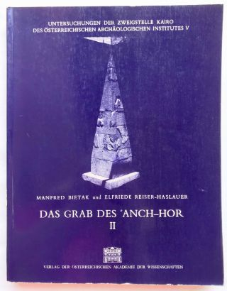 Das Grab des 'Anch-Hor, Obersthofmeister der Gottesgemahlin Nitokris. 2 volumes. Without the additional volume of plans.[newline]M1015e-13.jpg