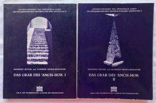 Das Grab des 'Anch-Hor, Obersthofmeister der Gottesgemahlin Nitokris. 2 volumes. Without the...[newline]M1015e.jpg